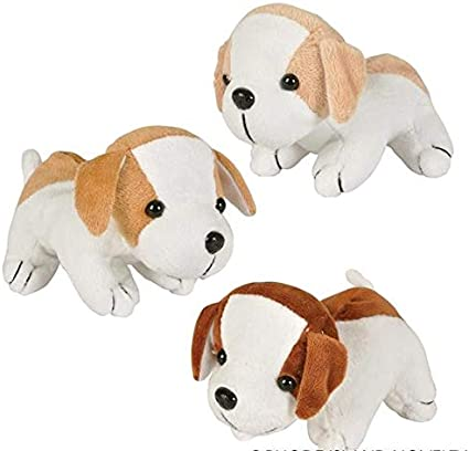 Set Of Dog Stuffed Animals, Amazon Com Rhode Island Novelty 6 Inch Assorted Adorable Plush Puppy Dogs Set Of 12 Toys Games