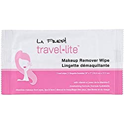 La Fresh Travel Lite Make-up Remover Wipes Large Size (30) Individually Packaged