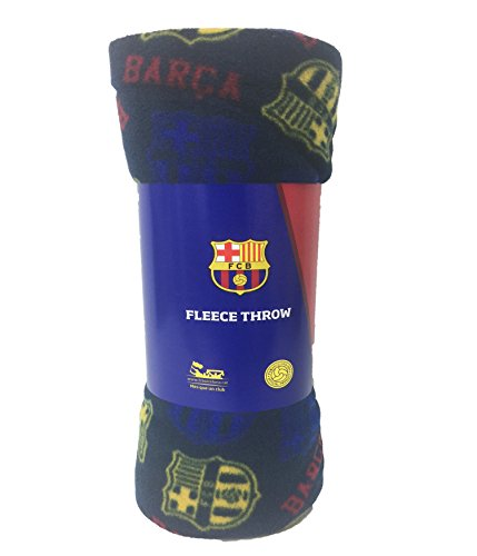 Fc Fleece Blanket - FC Barcelona Fleece Throw Blanket (50