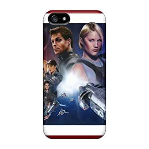 New Fashionable Just GOGO Cover Case Specially Made For Iphone 5/5s(battlestar Galactica)