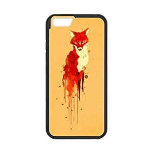 """T-TGL(RQ) Custom Brand New Phone Case for Iphone6 Plus 5.5"""" Personalized Fox case"""