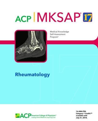 MKSAP (R) 17 Rheumatology