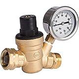 SAIDE Water Pressure Regulator Valve, Brass Lead