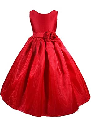 Amazon Amj Dresses Inc Little Girls Wedding Flower Girl Pageant