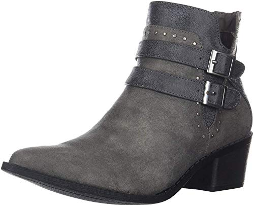 MIA Women's Henrietta Ankle Boot, Grey, 7 Medium US