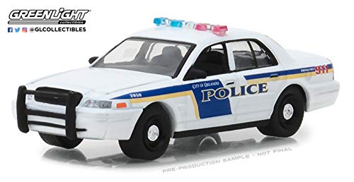 Police Crown Victoria (Greenlight 42850-E Orlando Police Department 2010 Ford Crown Victoria Police Interceptor 1:64 Scale Diecast)