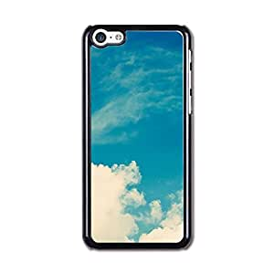Iphone 5c Case, Iphone 5c Covers, Cateyes Hard Cover Case For Iphone 5c - Blue Sky Pattern