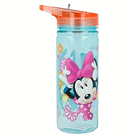 Stor Botella TRITAN 580 ML. Minnie Mouse Bloom: Amazon.es: Juguetes y juegos