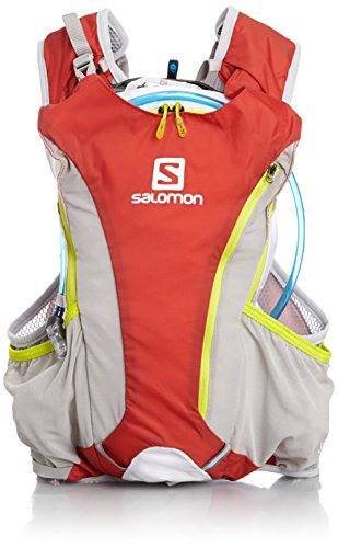Salomon Skin Pro (10+3 Set), Bright Red/White/Gecko Green