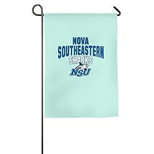 Nova de la Universidad sudoriental NSU tiburones Logo bandera de Jardín