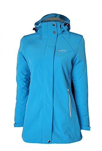 couleur ciel pour 44 taille femmes bleu Softshell Fashion taille Manteau basse Dry ztPRTqa