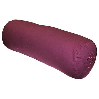 Amazon.com : Yoga Mad Organic Cotton Yoga Bolster, Color ...