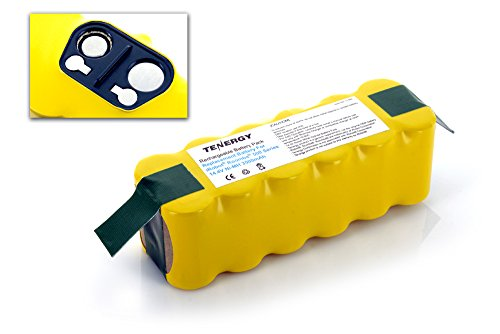 Tenergy 3500mAh NiMH Battery for iRobot Roomba R3 500, 600, 700, 800, 900 Series, 3.5Ah 14.4V Advanced Power System (APS) Battery Replacement 500 550 630 650 770 780 880 980 and more