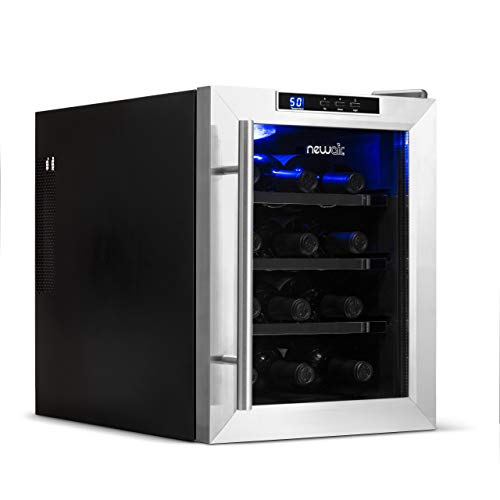 (NewAir AW-121E 12 Bottle Thermoelectric Wine Cooler )