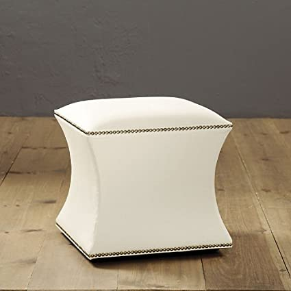 Prime Amazon Com Courbe Ottoman With Hand Applied Nailheads Short Links Chair Design For Home Short Linksinfo