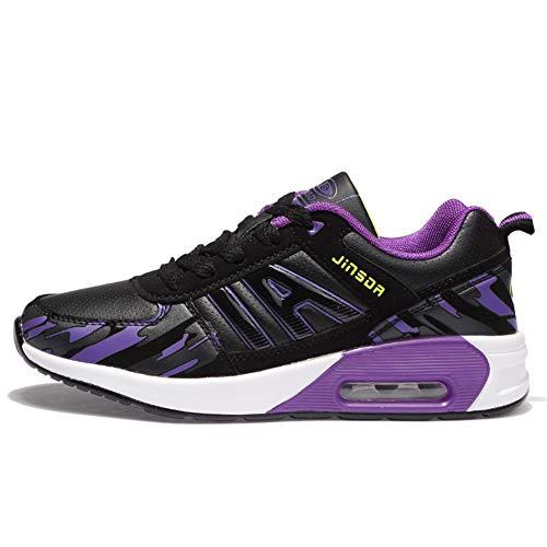 R Viajar Zapatillas Caminar De Con Aire Mujer Para Deporte Deporte Cordones Deporte De Zapatillas Al Para De Zapatillas De Deporte Purple Zapatillas YR Libre Para d4awqnFd