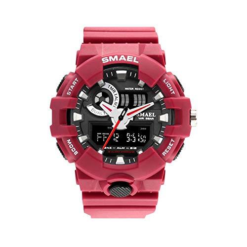SMAEL Sport Men Watches Man Fashion Cool Multifunction Shock Waterproof Relogio Masculino LED Wristwatch Uhren Clock 1642