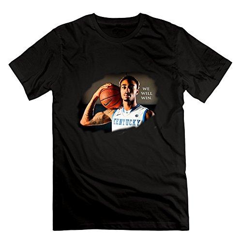 Short-Sleeve Kentucky Basketball 1 UK WE WILL WIN Tshirts For Mens L Black (Win Shirts Maternity)