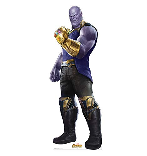 Advanced Graphics Thanos Life Size Cardboard Cutout Standup - Marvel's Avengers: Infinity War (2018 -