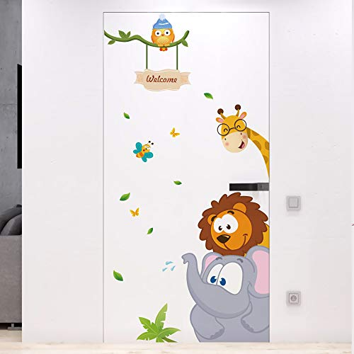 DKTIE Kids Wall Decals Removable Stickers Peel and Stick for Kids Room Bedroom Nursery Wall Art Decal,Wall Stickers Quotes...