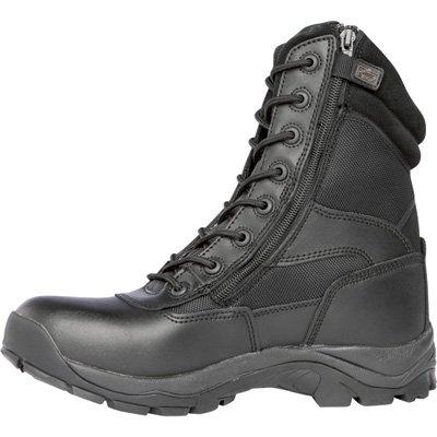 RidgeメンズGhost with Zipper Steel Toe Boot B006LYWNR2 10.5 D(M) US|ブラック ブラック 10.5 D(M) US