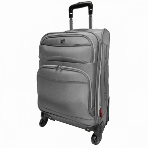American Tourister Neo 360 21 Spinner Silver, Bags Central