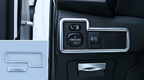 UltaPlay 2pcs Car Head Light Switch Button + Storage Box Handle Cover Fit for Toyota Corolla 2014-2017 Car Interior Accessories Styling