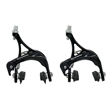 TEKTRO R340 Road Bike Dual Pivot Caliper Brake Set Front /& Rear Black