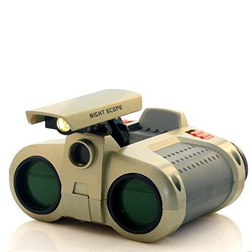 Fonhop Night Scope Binoculars with Green Coating Film, 4x Ma