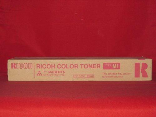 RICOH BR AFICIO 1224C, 1-TYPE M1 MAGENTA TONER 885319 by RICOH 885319 Magenta Toner
