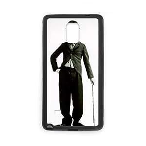 Samsung Galaxy Note 4 Cell Phone Case Black Charlie Chaplin ljbr