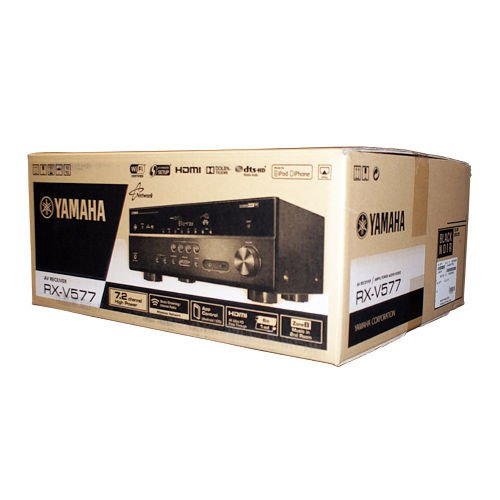 New Yamaha Rx-v577 7.2-channel Wi-fi Network Audio/video Receiver Airplay Black