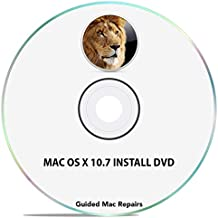 Mac OS X 10.7 Install Disc Lion Installation Recovery OSX System Installer DVD CD {Easy with Instructions}