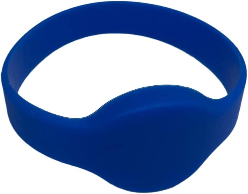 2 26 Bit Proximity Wristbands Blue Weigand Prox Wrist Band Compatable with ISOProx 1386 1326 H10301 Format Readers Works with The vast Majority of Access Control Systems