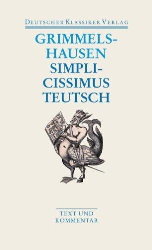 Download Simplicissimus Teutsch PDF