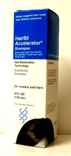 HairSil Accelerator Shampoo, 4 Ounce by HairSil Accelerator Shampoo