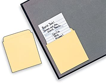 Library Card Pockets