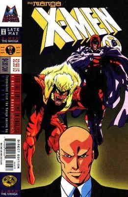 X-Men: The Manga #6 VF/NM ; Marvel comic book