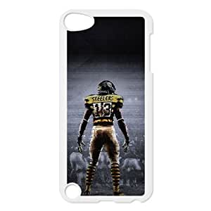 iPod 5 White Cell Phone Case Cleveland Browns NFL Phone Case Cover Back Durable NLYSJHA1253
