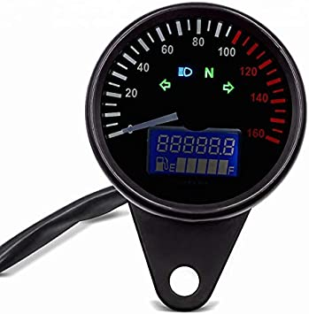 Motorrad Tachometer Für Honda Shadow Vt 750 600 C Ktx Schwarz Auto