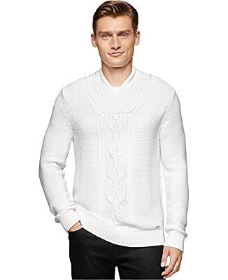 Calvin Klein Men's Shawl Collar Sweater