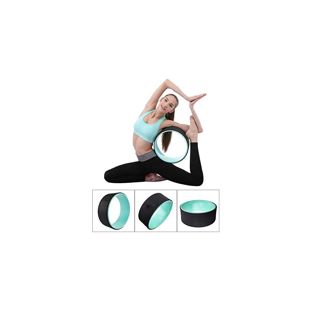 Plastic Circle Roller Yoga wheel