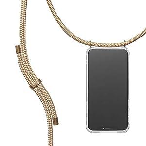 KNOK Case Coque iPhone 5/5S/SE Cordon Tour De Cou Telephone – Pochette pour Telephone Portable, Cordon Collier, Dragonne…