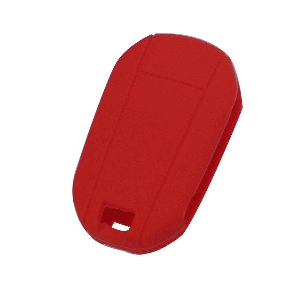 Rojo Happyit Caso De La Cubierta de La Llave del Coche del Tir/ón del Silic/ón para Peugeot 508 301 2008 3008 408 para Citroen C4L Cactus C5 C2 C3 C4 C6 C8 Picasso Xsara