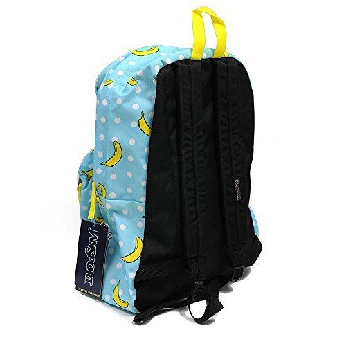 Classic Jansport Superbreak Backpack (Blue Tropaz Oh Bananas (T5010DR))