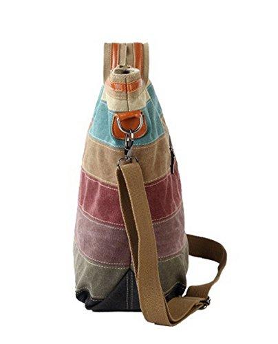 fourre Sacs VogueZone009 Femme Multicolore Toile bandoulière Achats CCAFBO181471 Multicolore Sacs tout à Fgw0qxU