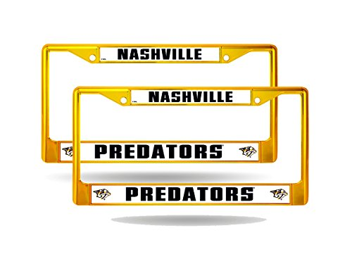 Nashville Predators License Plate Frame - 6
