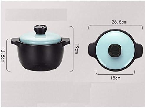 DYXYH Soupe Céramique Casserole Santé Marmite Pot ménages à haute température de flamme marmite à soupe Casserole