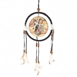 Lobo del nativo americano únanse cabezas pequeños regalos, y, tarjetas Boda, regalo, Idea ocasión, regalo, Idea