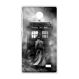 Gloomy Doctor Who Fashion Comstom Plastic case cover For Nokia Lumia X